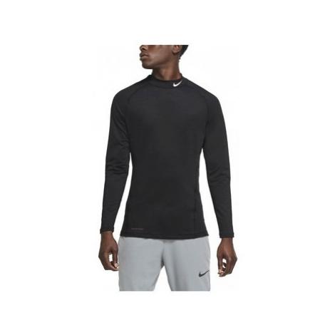 Nike CAMISETA NEGRA HOMBRE Pro Warm CU4970 Černá