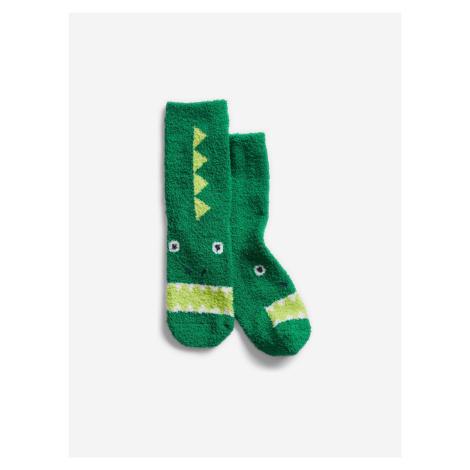 Ponožky dětské GAP Zelená