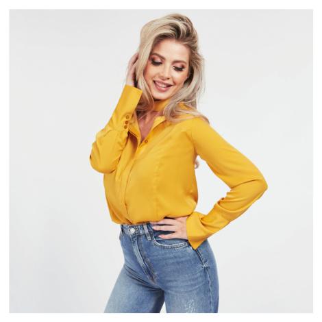 Guess dámská žlutá košile