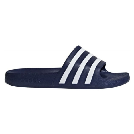 adidas ADILETTE AQUA tmavě modrá - Pánské pantofle