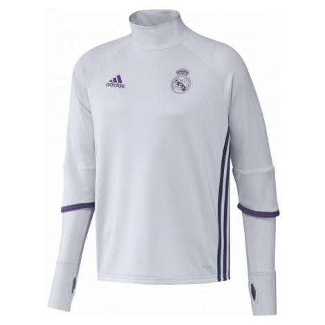 Mikina adidas Real Madrid Training Bílá