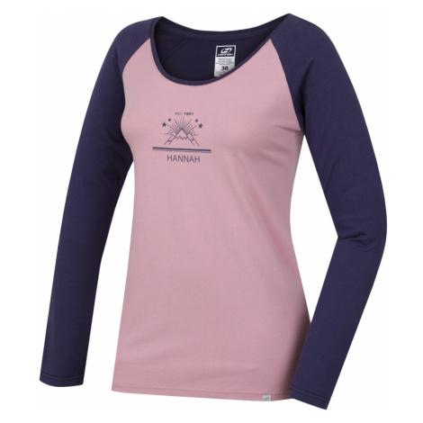 HANNAH FABRIS Dámské triko s dlouhým rukávem 10000222HHX01 zephyr/nightshadow blue