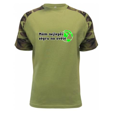 Mám nejlepší ségru na světě - Raglan Military