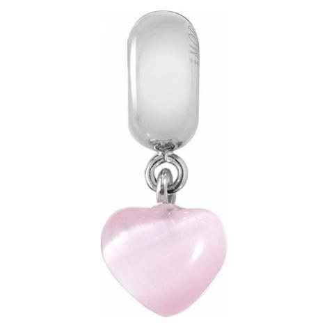 Morellato Ocelový přívěsek Drops Pink Heart