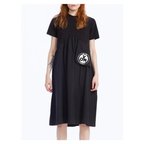 #VDR Logo Black šaty