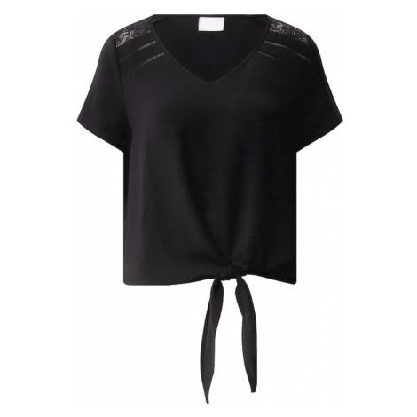 VILA Tričko 'RASHA' černá