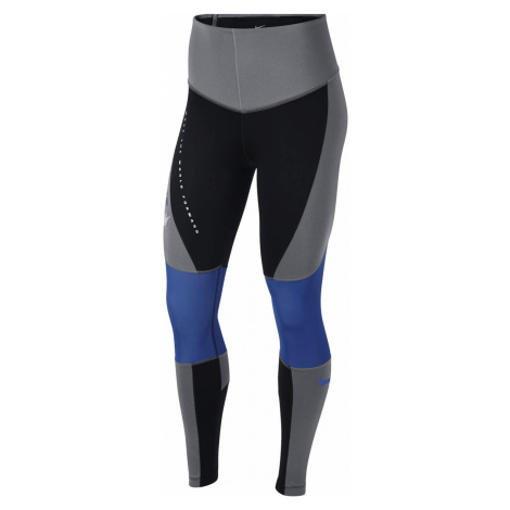Dámské tréninkové legíny Nike Power Šedá / Modrá