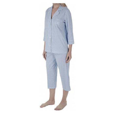 Ralph Lauren dámské pyžamo I813702 modré - Modrá