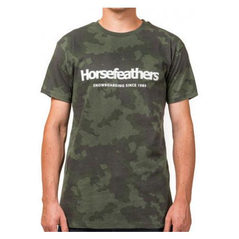 Tričko Horsefeathers Quarter cloud camo