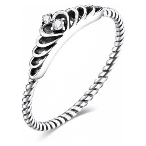 Linda's Jewelry Stříbrný prsten Tiara Ag 925/1000 IPR081 Velikost: 51