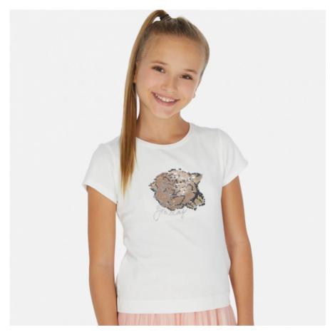 Dívčí triko Mayoral 6022 | smetanová