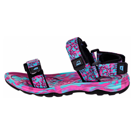 UNI letní obuv Alpine Pro BATHIALY - modro-růžová