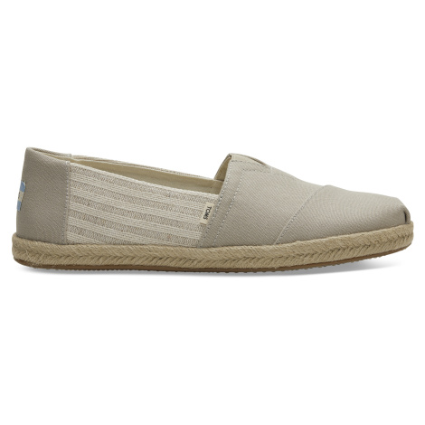 Oxford Tan Ivy League On Rope Men Alpargata Classics Toms