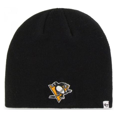 47 NHL PITTSBURGH PENGUINS BEANIE černá - Zimní čepice