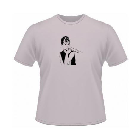 Pánské tričko na tělo Audrey Hepburn