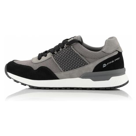 Pánská městská obuv Alpine Pro REMUS - šedá