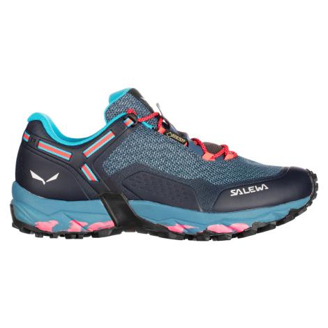 Salewa SPEED BEAT GTX, Patriot Blue/Fluo Coral Dámské boty