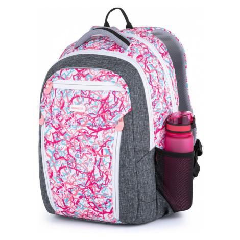 Bagmaster školní batoh pro holky Boston 21 A