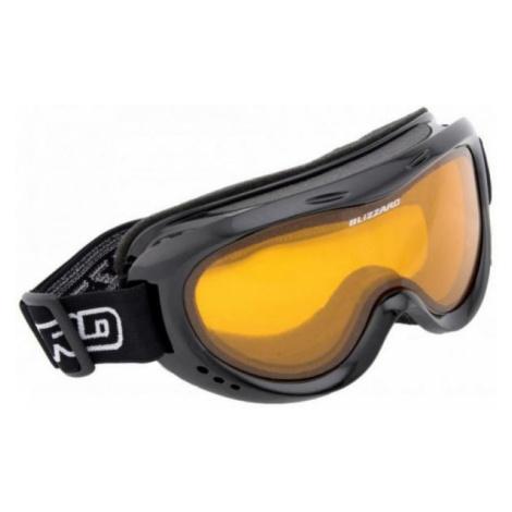 Blizzard DAO JR černá - Juniorské sjezdové brýle