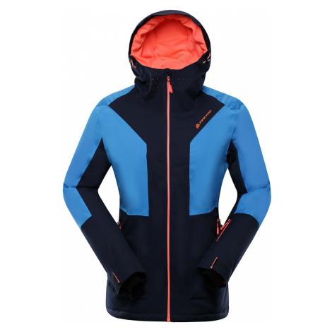 ALPINE PRO MIKAERA 3 Dámská lyžařská bunda LJCP351602 mood indigo