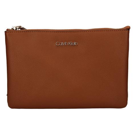Dámská crossbody kabelka Calvin Klein Maja - hnědá