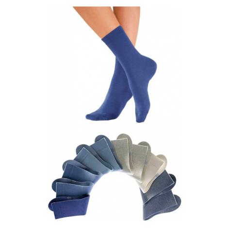 H.I.S Ponožky světlemodrá / modrá