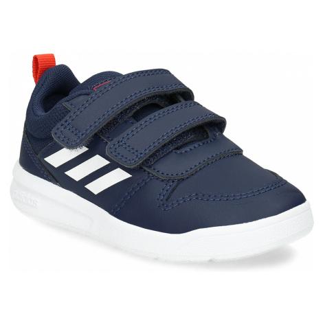 Modré dětské tenisky na suché zipy Adidas