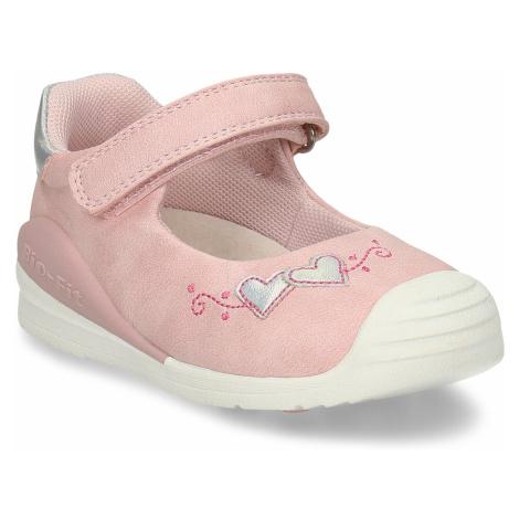 Růžové dívčí sandály se srdíčky Bubblegummers