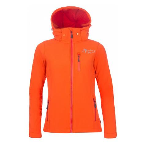 Dámská softshellová bunda Alpine Pro NOOTKA 5 - oranžová