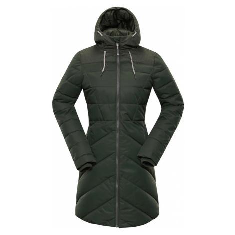 ALPINE PRO TESSA 3 Dámský zimní kabát LCTP098505 rifle green