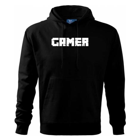 Gamer nápis - Mikina s kapucí hooded sweater