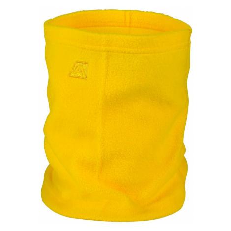 Unisex zimní šátek Alpine Pro ACHILLE - žlutá