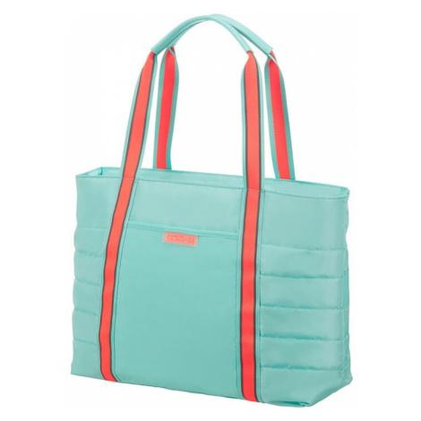 American Tourister Cestovní taška Uptown Vibes 15,5 l 14.1'' - tyrkysová