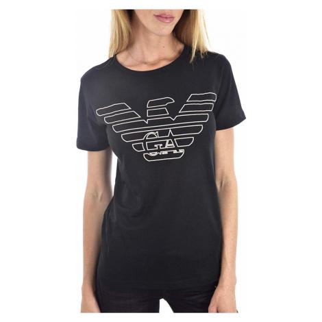 Armani Emporio Armani dámské černé tričko