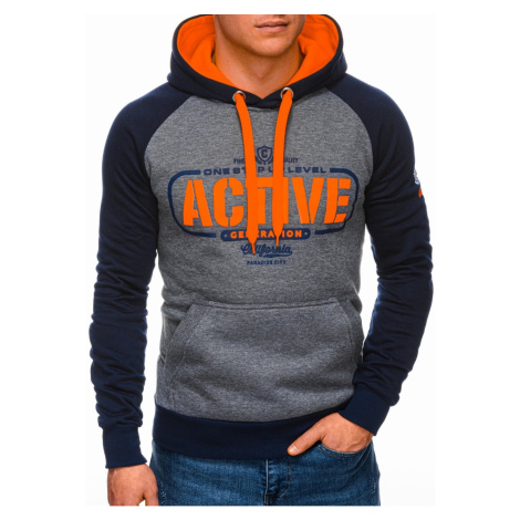 Edoti Men's hoodie B1262
