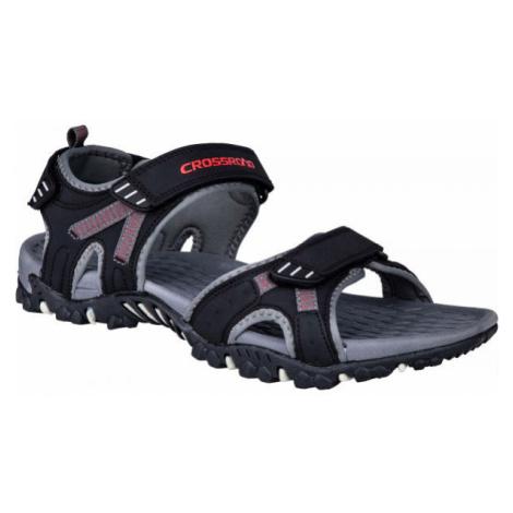 Crossroad MOHSIN černá - Pánské sandály