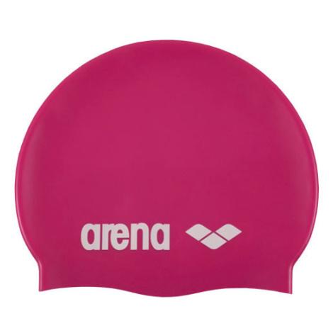 Plavecká čepice ARENA Classic - růžová Litex
