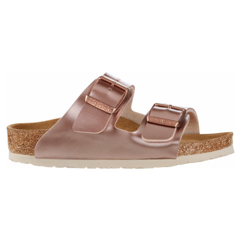 Arizona Birko-Flor Electric Metallic Copper Birkenstock