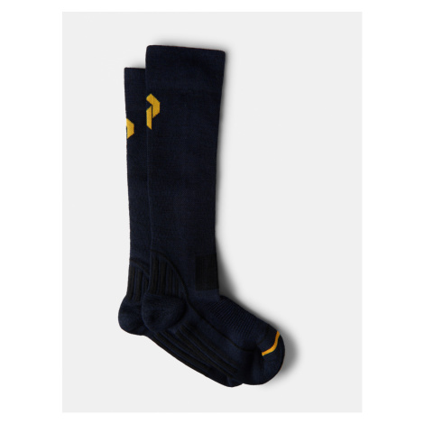 Ponožky Peak Performance Ski Sock - Modrá