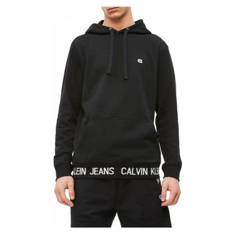 Calvin Klein pánská černá mikina Logo Waistband