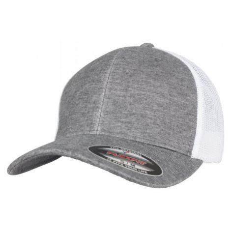 Retro Trucker Melange Cap - grey/white mesh Urban Classics
