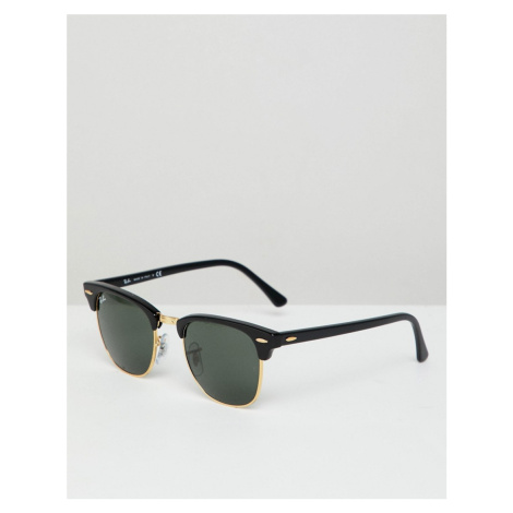 Ray-Ban clubmaster sunglasses in black 0RB3016