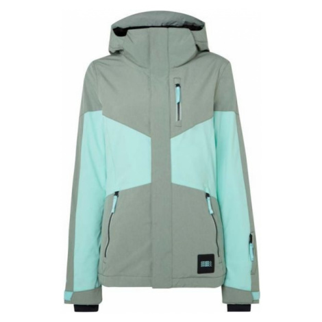 O'Neill PW CORAL JACKET zelená - Dámská lyžařská/snowboardová bunda