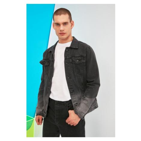 Trendyol Black Male Gradient Denim Jacket