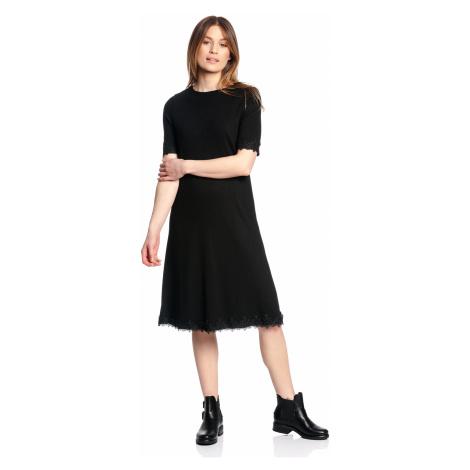 Jednoduché krajkové šaty Vive Maria Lydia černé