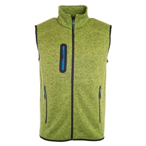 James & Nicholson Pánská vesta z pleteného fleecu JN774