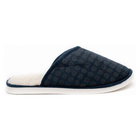 Papuče WARMY Modré Pánské Oldcom