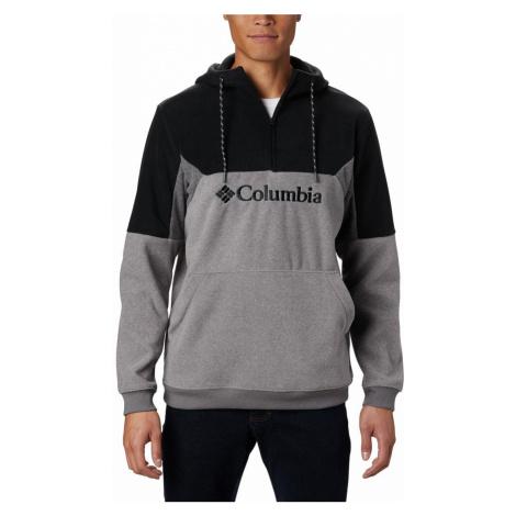 ikina Columbia Lodge™ II Fleece - šedá/černá