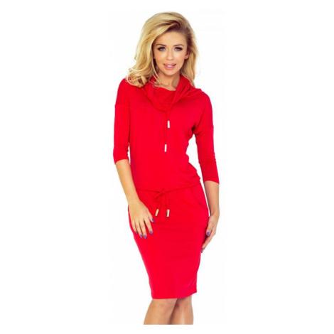 Dámské šaty Numoco 44-13 | červená