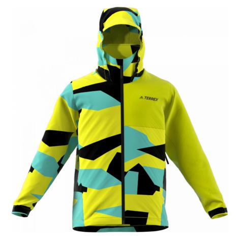 Bunda adidas Terrex Multi RAIN.RDY Žlutá / Více barev